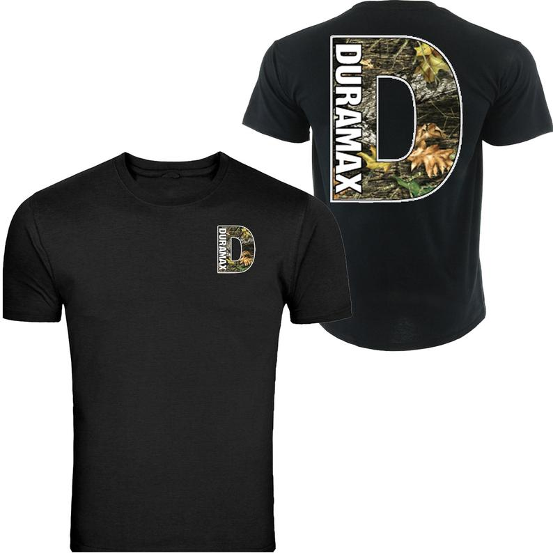 Duramax Camo Pocket Design Color Black S 5XL TShirt Tee