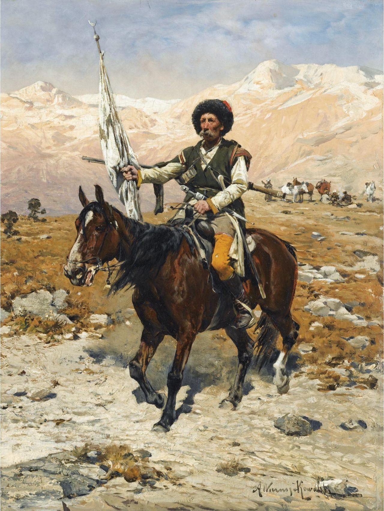 Windandsails Alfred Wierusz Kowalski 1849 1915