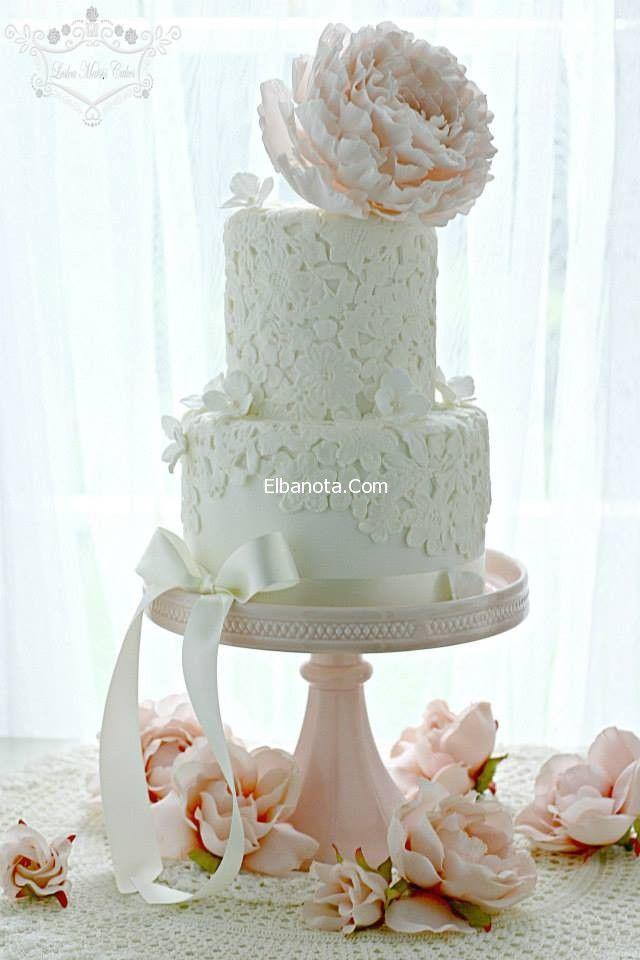 اشكال كعكة الزفاف 2014 صور كيكات حفلات الزفاف كيكات الاعراس والمناسبات ليلة العمر عروس بنوته بنوته Cake Lace Lace Wedding Cake Beautiful Cake Pictures