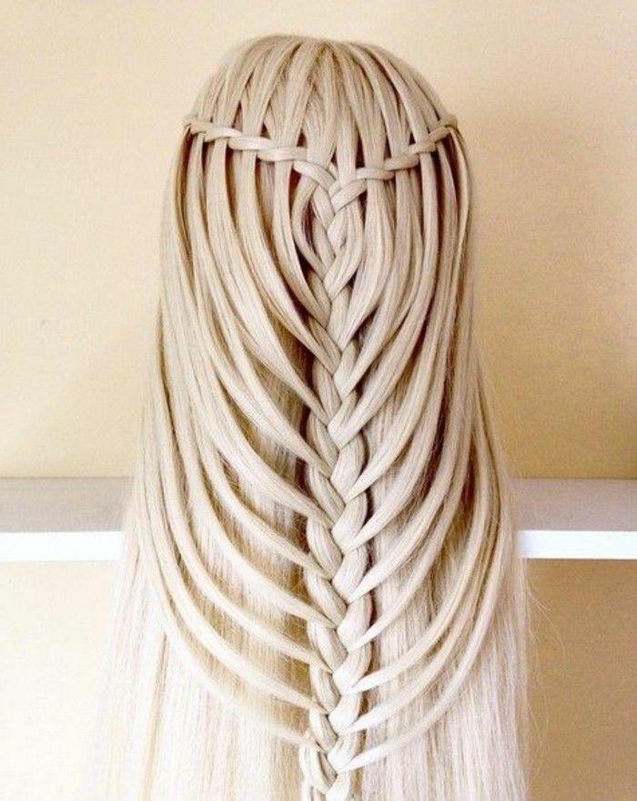 1001 Ideen Fur Schone Haarfrisuren Plus Anleitungen Zum Selbermachen Frisur Glatte Lange Haare Haarfrisuren Lange Haare Ideen