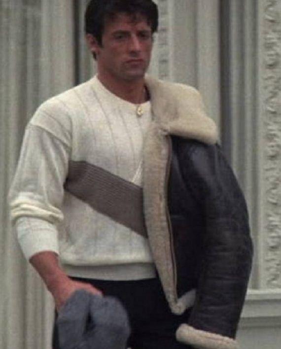 Sylvester Stallone Rocky IV Rocky Balboa Jacket