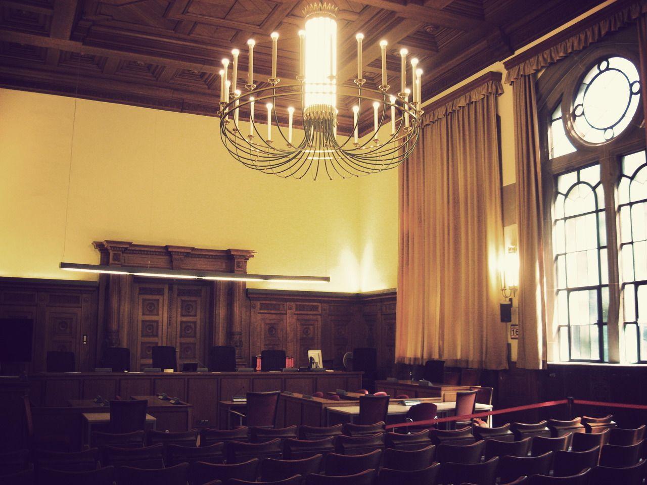 Schwurgerichtssaal, Landesgericht Tübingen