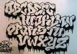 Graffiti Buchstaben Vorlagen Ecro Tattoo
