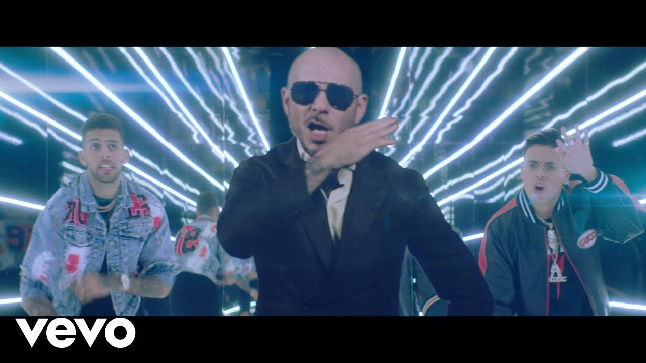 Static Ben El Pitbull Further Up Na Na Na Na Na Official Video Youtube Take On Me Lyrics Pitbull Songs Funny Songs