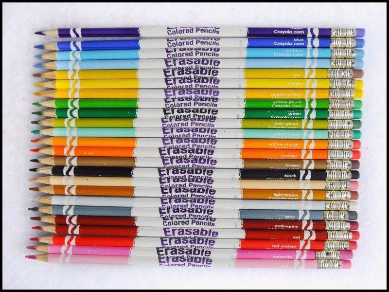 Best Of Crayola Erasable Colored Pencils Review