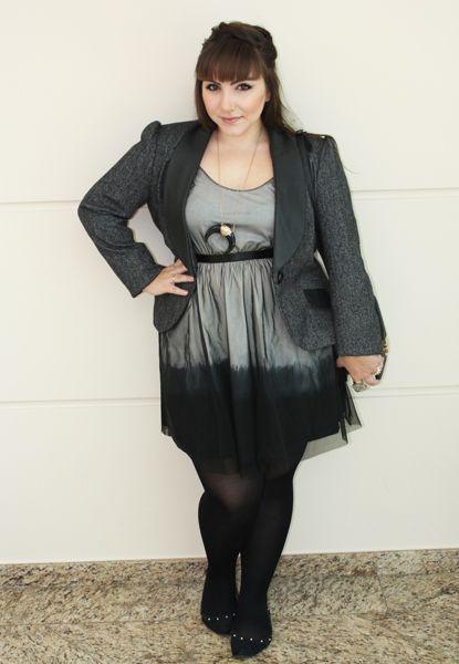 d0792d376 O mágico caso do vestido de tamanho único. O mágico caso do vestido de  tamanho único Roupas De Inverno Plus Size ...