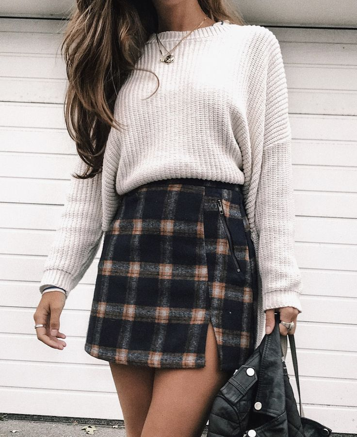 spring outfits for pictures 50+ best outfits is part of Fashion - Fall style chunky knit fall sweater cute fall outfit for everyday , shirt , blue jeans , pretty shoes , jewelery , adorable , fun , pretty , girl , crisp , cool air, sweater , fall, morning , inspiration… Continue Reading →