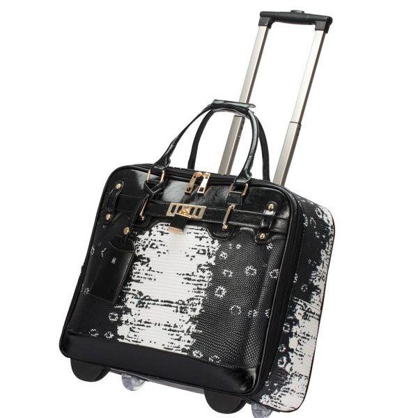 Vera May Designer Travel Laptop Bag