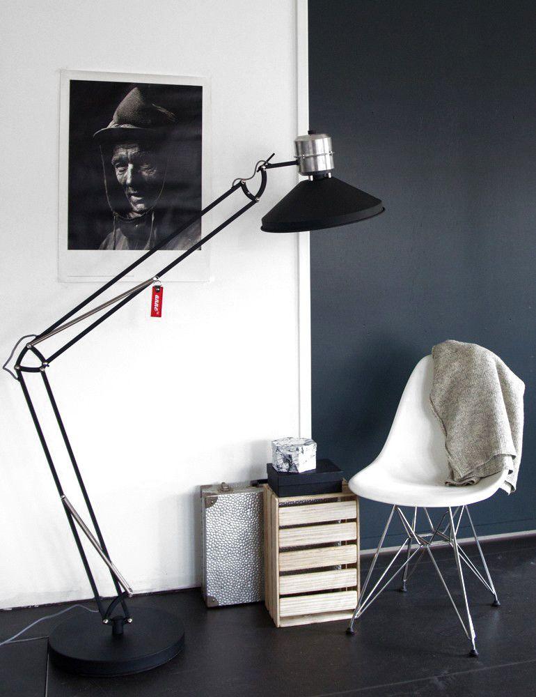 industrià le staande lamp anne zappa zwart 185 cm industrià le