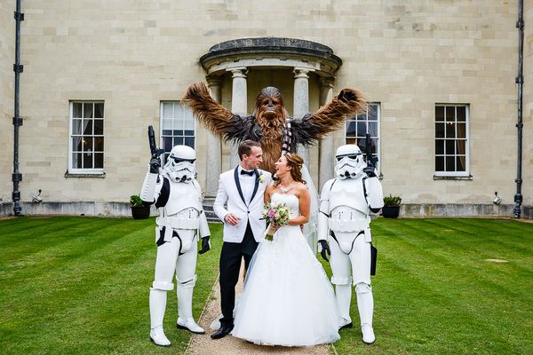 A beautiful Star Wars Theme Wedding with a Maggie Sottero Gown