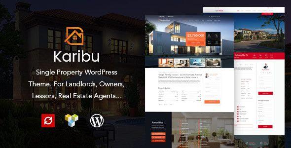 Karibu - Single Property Theme   Wordpress and Real estate