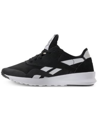 56d66dc4dddcda Reebok Women s Classic Nylon Sp Casual Sneakers from Finish Line - OG  BLOCKING BLACK 6.5