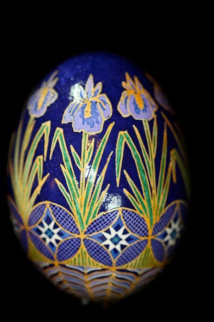 another iris egg for Grandma