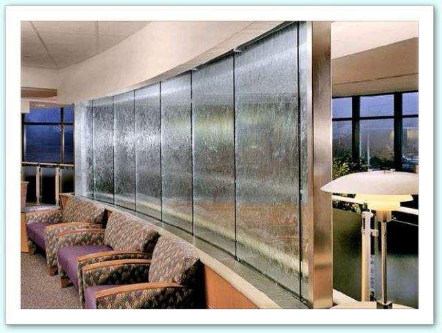 Muro D Acqua Per Interni : Fontana fontane da parete muro d acqua cascata parete indoor