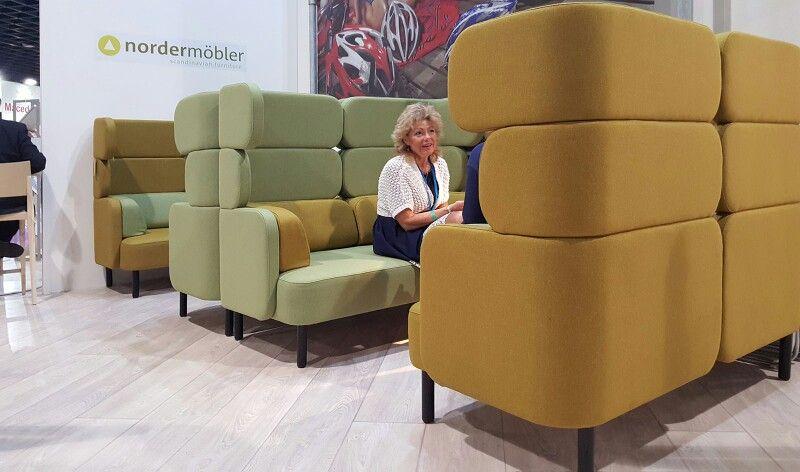 Story Sofa By Jonas Ihreborn Scandinavian Furniture On De VisitSweden And  Volvo Stand At De Vakantiebeurs