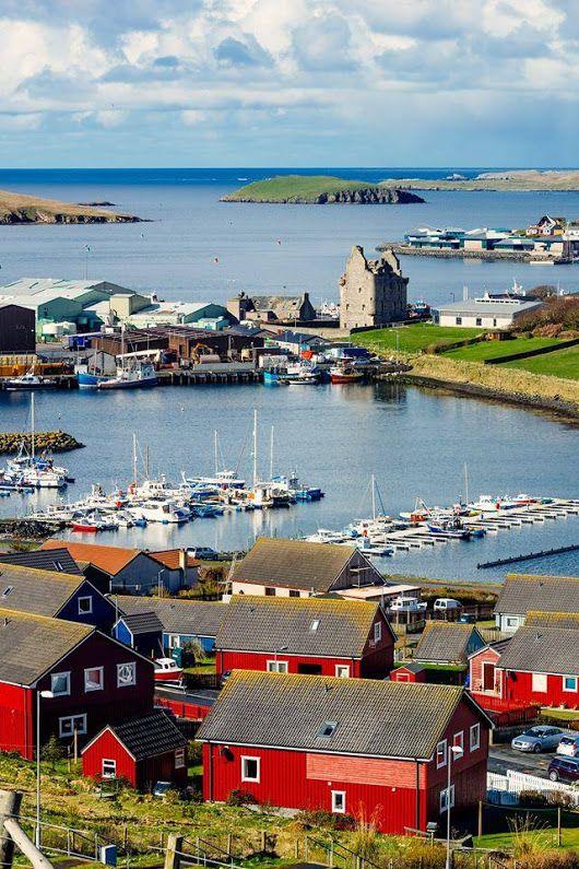Isole Shetland in Scozia #shetlandislands