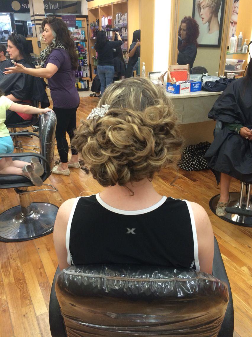 #promhair curls crazy
