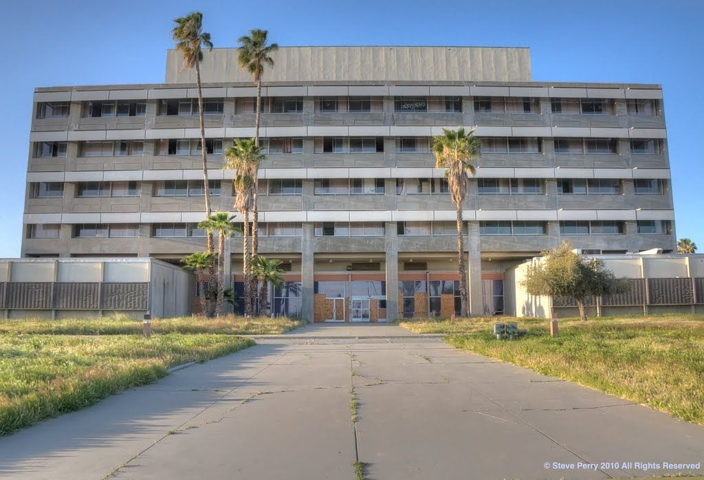 March Air Force Base Hospital Shuttered House styles