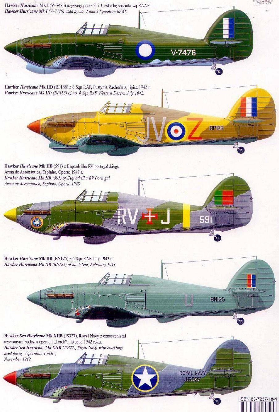 Hawker Hurricane Color Schemes Hawker Hurricane Luftwaffe Planes Hurricane