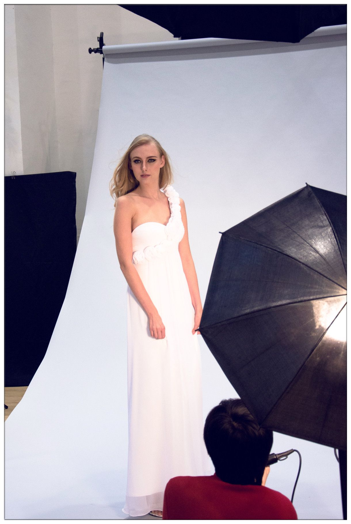 behind the scene of prom gown DRP0024 from dressespro | Behind-the ...