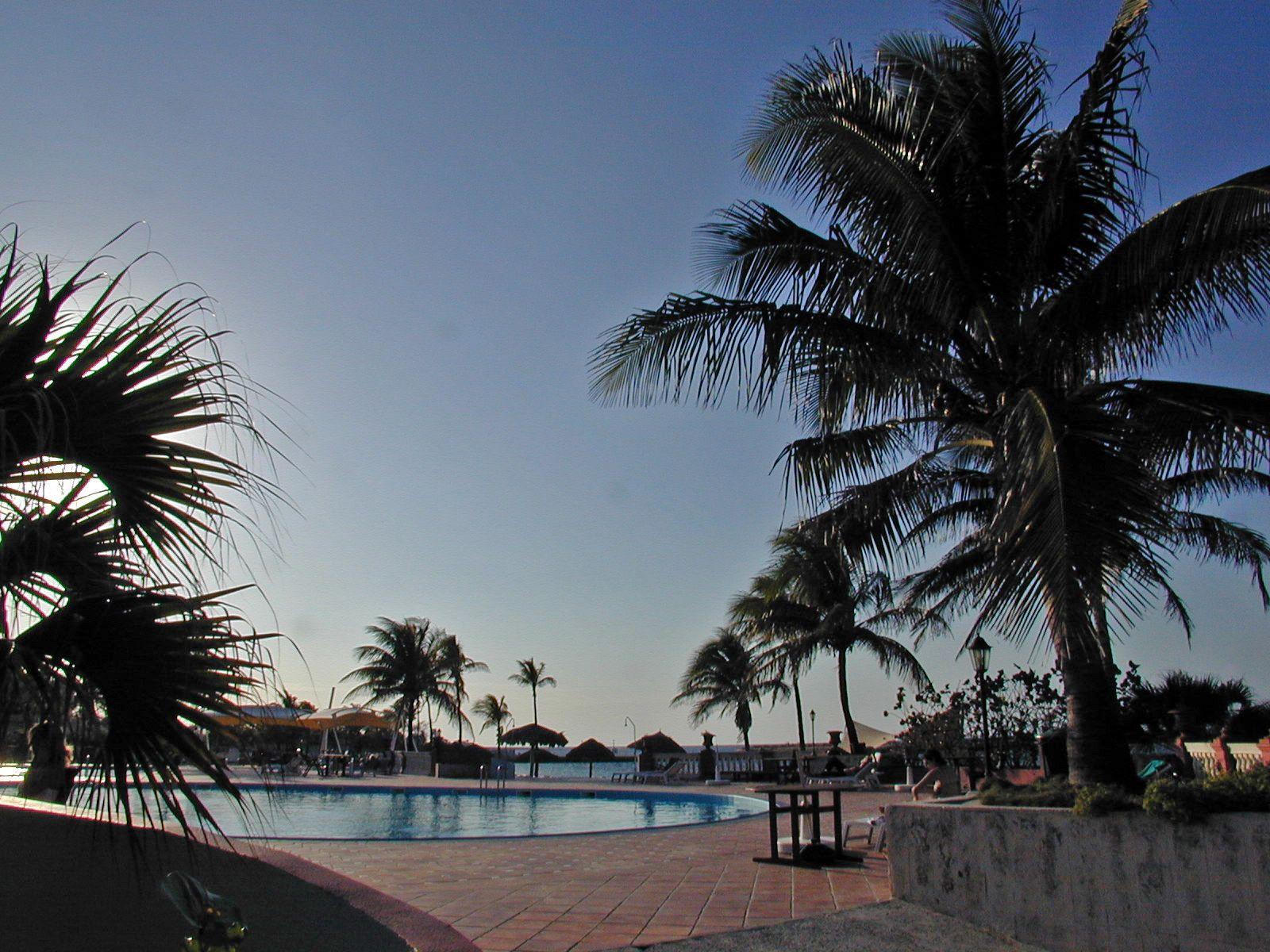 Surreal Pool Image at Club Habana, Havana, Cuba Cuba