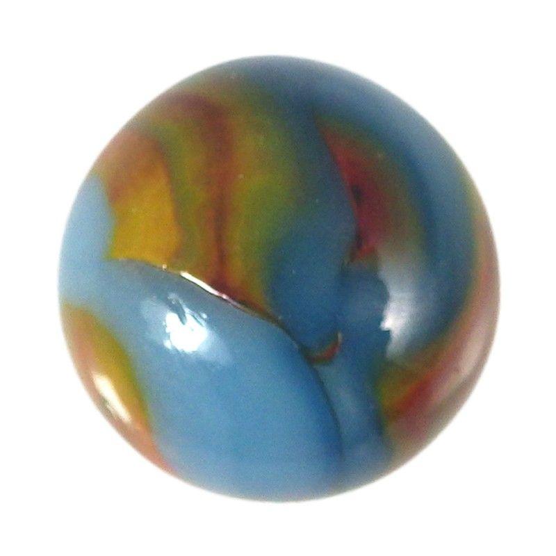 Vintage Alley Agate Superman Marble Vintage Marble Antique Glass