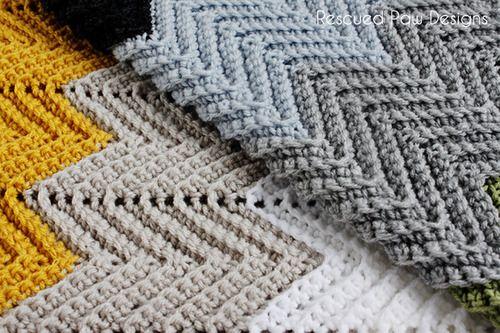 Free pattern crochet chevron blanket easy fast pattern chevron crochet blanket pattern dt1010fo