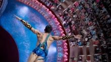 The AquaTheater onboard Royal Caribbean ships offer breathtaking views of the ocean and dazziling aqua performances.