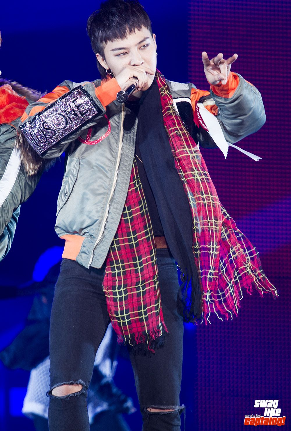 "fckyeahgdragon: ""151113 G-Dragon - MADE Japan Dome Tour in Tokyo DO NOT EDIT : Source: CAPTAIN-G """
