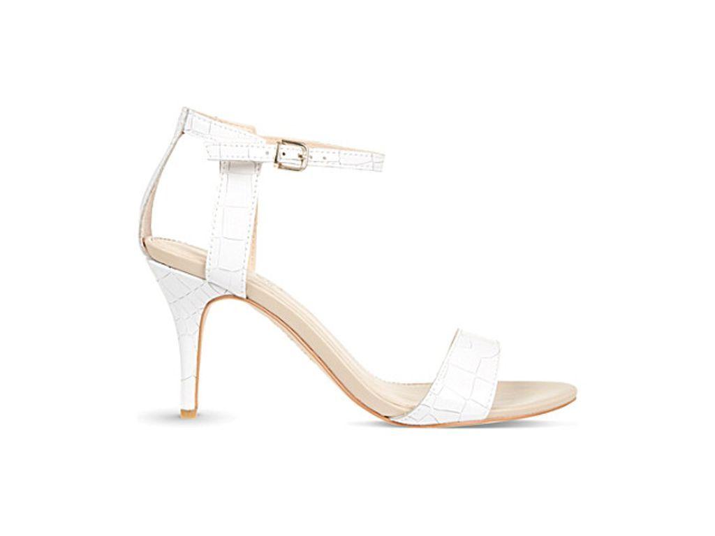 CARVELA Kollude leather heeled sandals   Heels, Leather