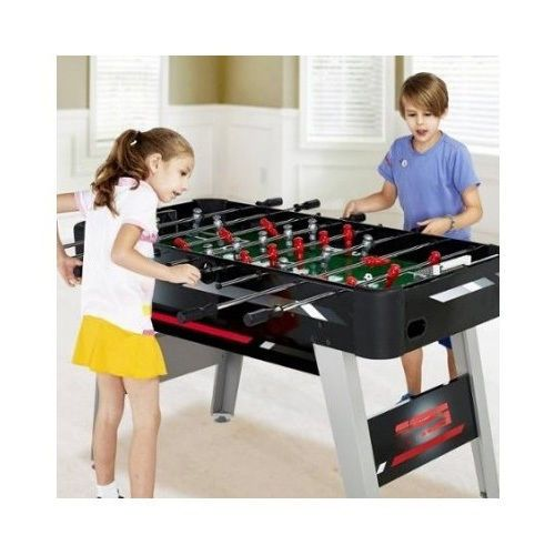 Foosball Table 54 Soccer Competition Game Fun Play Room Kid