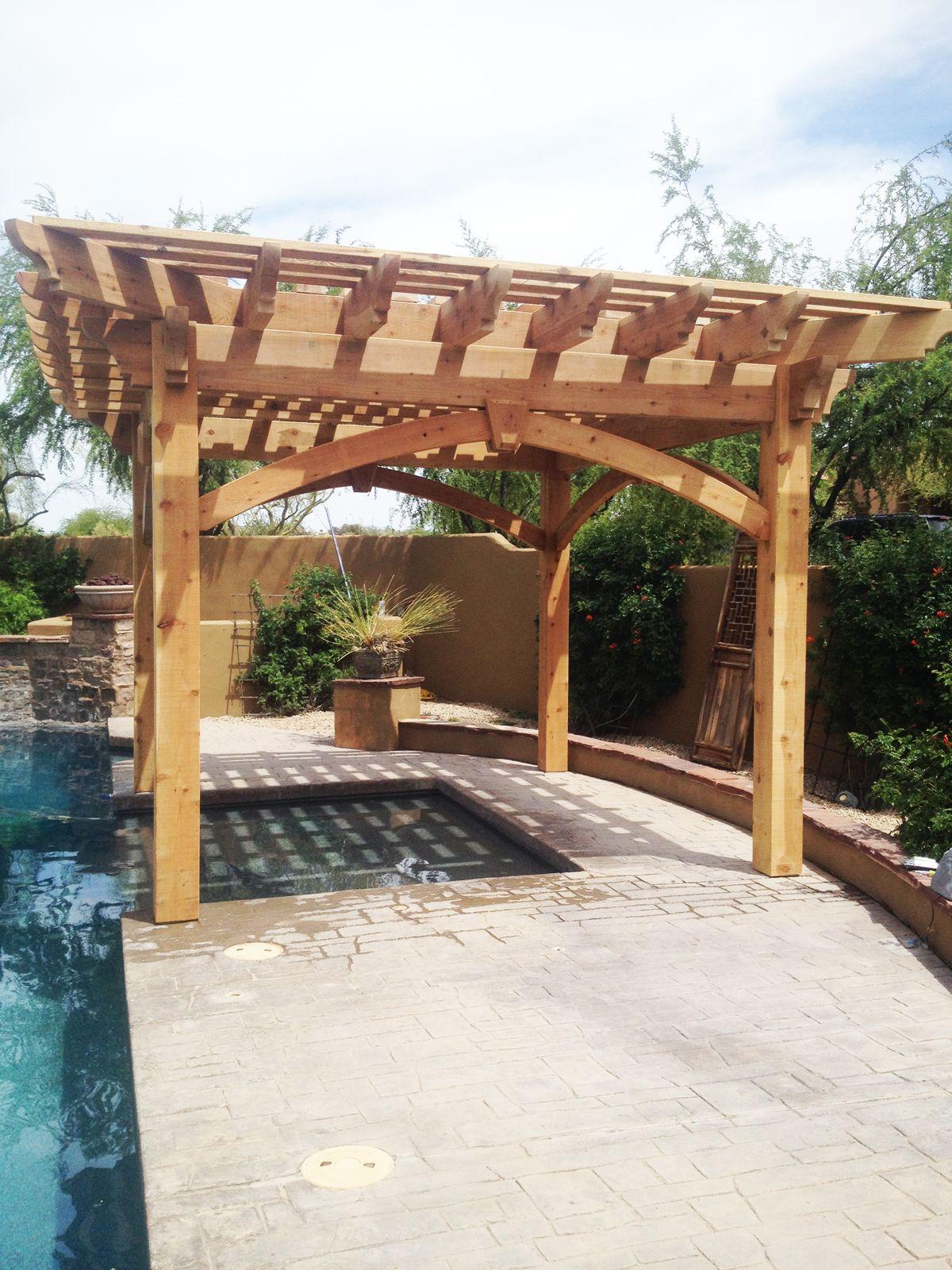 Shaded Swimming Pool Timber Frame Diy Pergola Kit Rustic Pergola Backyard Pergola Garage Pergola Diy