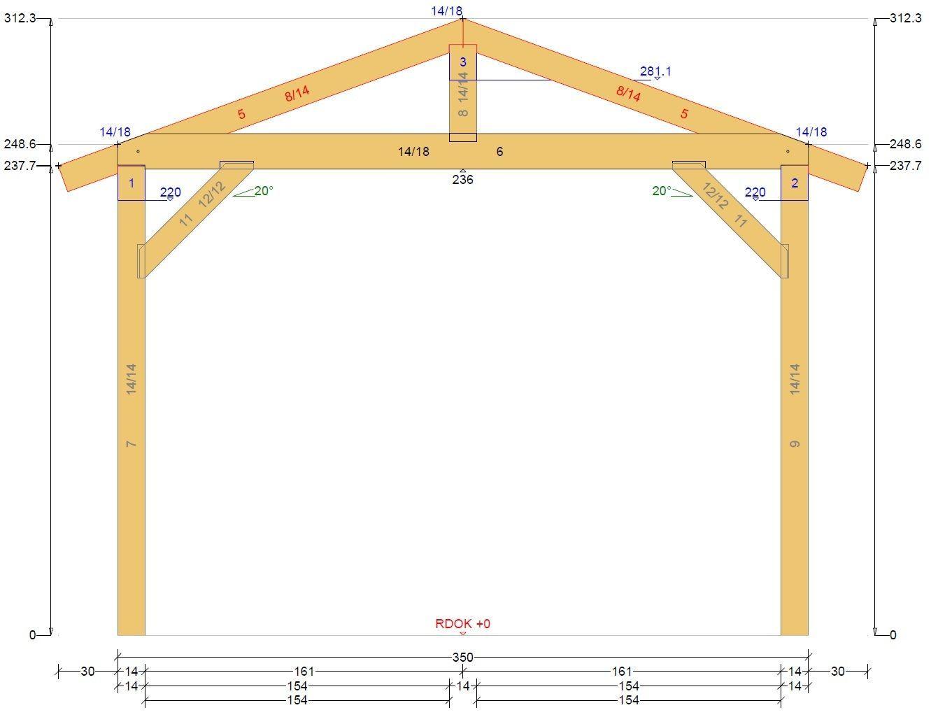 carport bauanleitung abbundplan nach ihren vorgaben erstellt holzbau pinterest. Black Bedroom Furniture Sets. Home Design Ideas