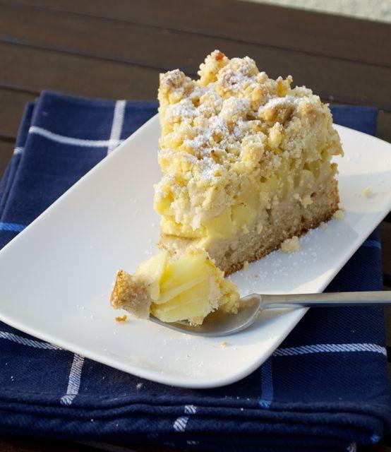 Vegan Apfel Vanillecreme Kuchen Kuchen Und Torten Backrezepte Lecker