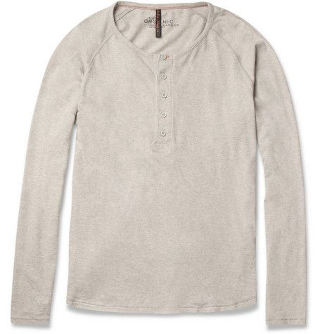 2a2d4f20 Nudie Jeans Long-Sleeved Organic Cotton Henley T-Shirt | MR PORTER ...