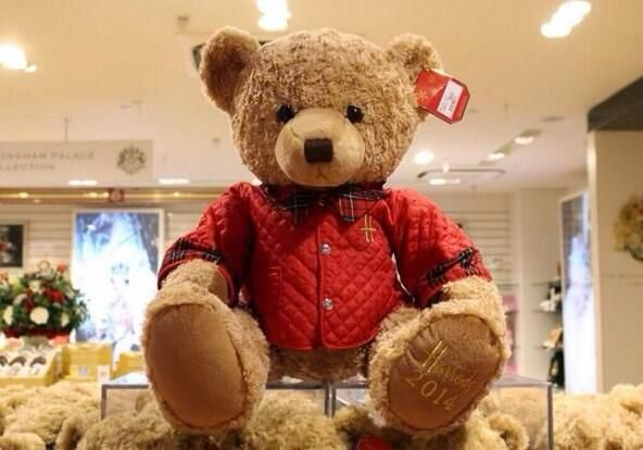Would you be willing to give the 'beary' cute Jasper a new home? #HarrodsBears