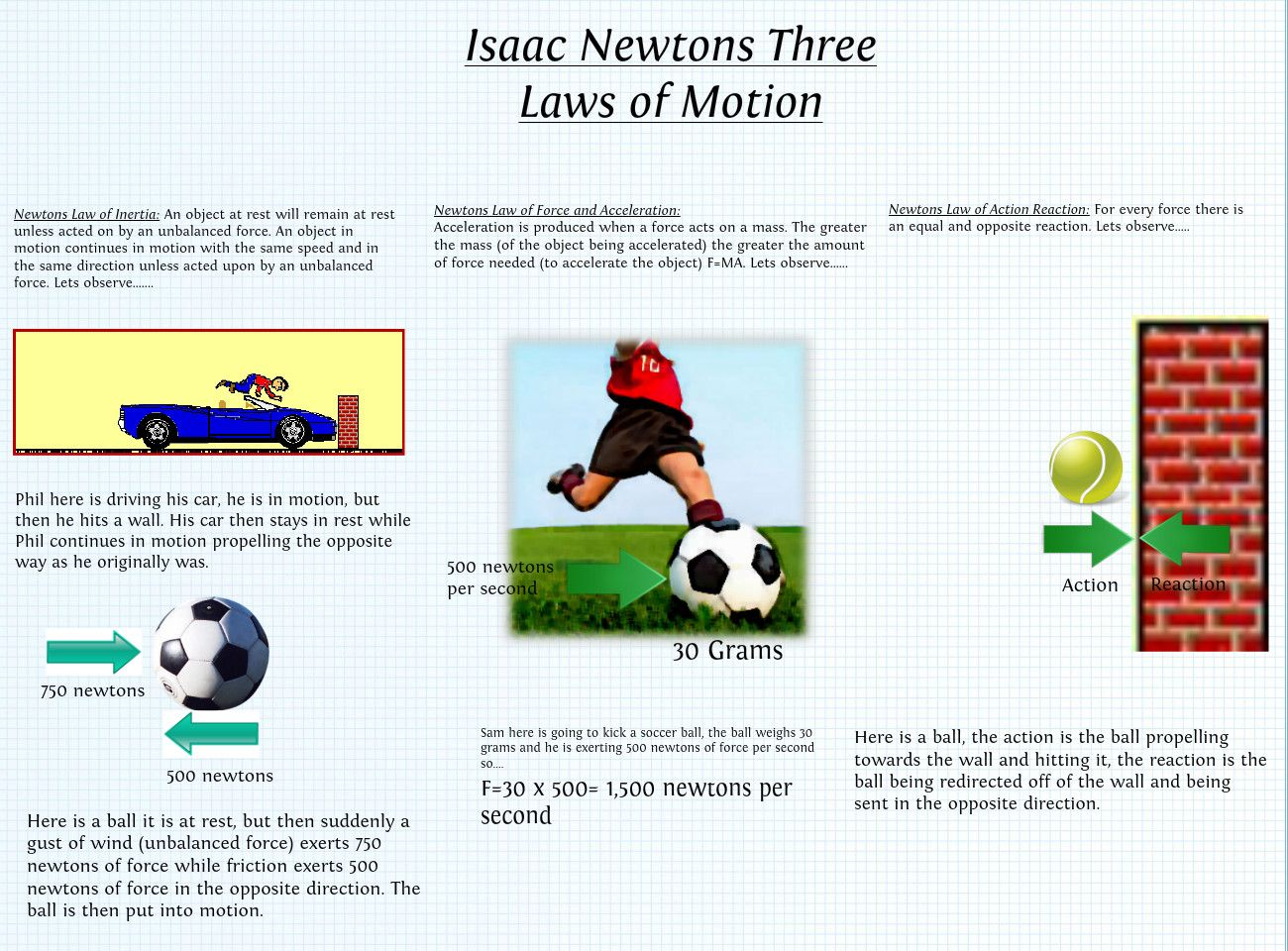 Everyday Examples Of Newton S Laws