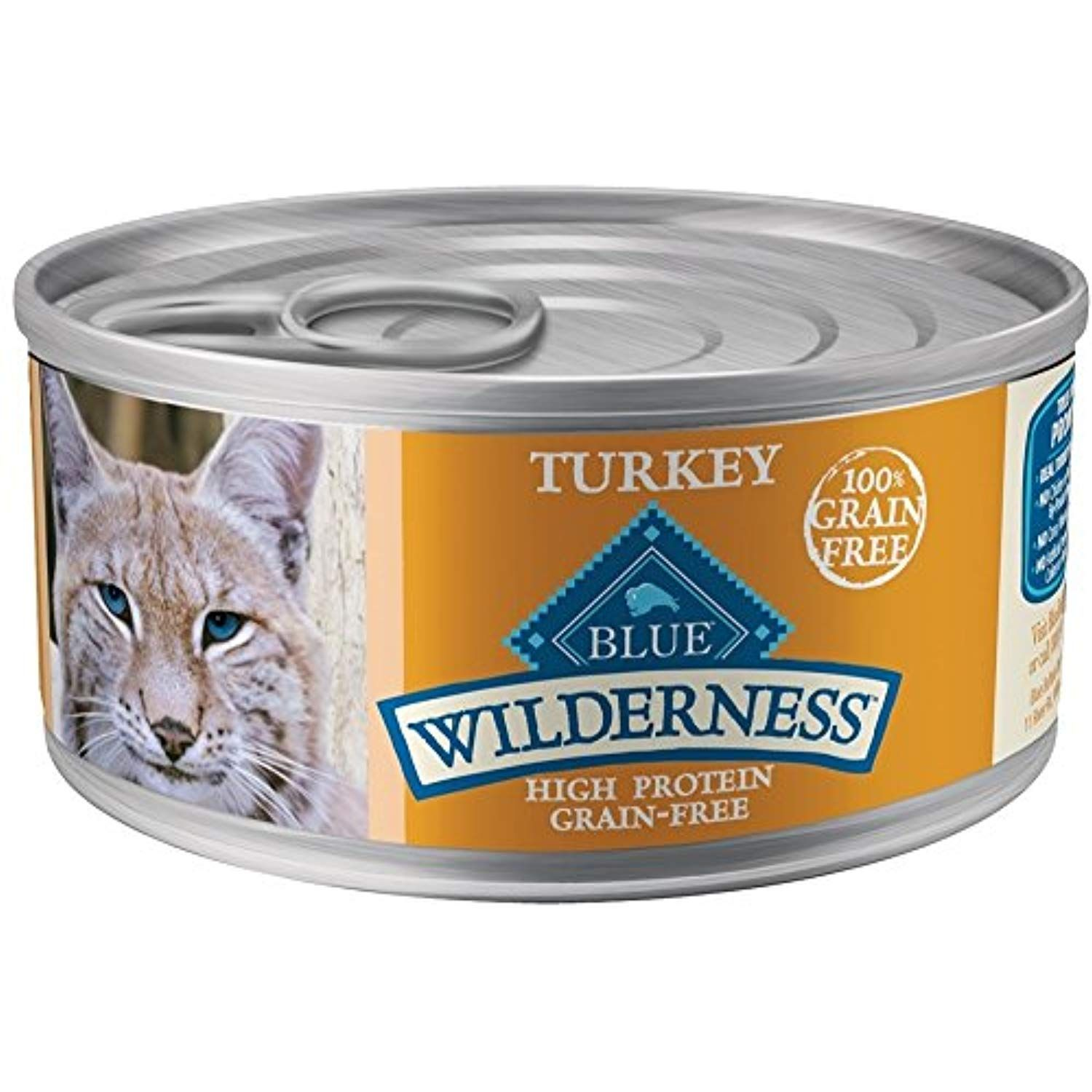 Blue Buffalo Wilderness High Protein Turkey Canned Cat Food See This Great Product This Is An Affiliate Link Ca Blue Buffalo Canned Cat Food Grain Free