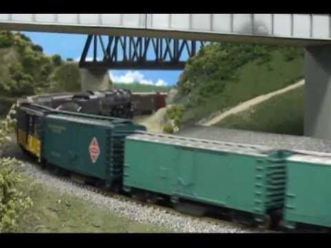 "A1 HO Model Train Layout PARF Memories Seven ""Letting The Big Dogs Run"" - YouTube"