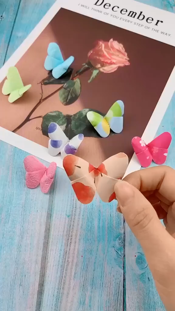 Photo of DIY Papier Schmetterling