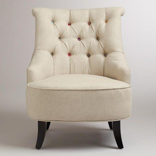 Cute As A Button Erin Chair | World Market...I