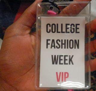 College Fashion Week VIP tag #hercampus #cfwauburn #collegefashionweek #auburn @Holley Roberts Campus