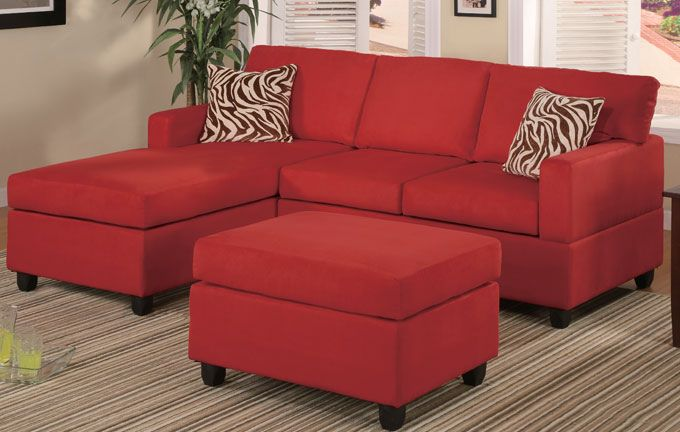 Mini Sectional Red 549 00 Red Sectional Sofa Modular Sectional