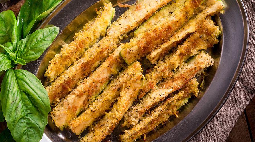 Ottime zucchine da consumare come antipasto o contorno, sia calde che fredde.