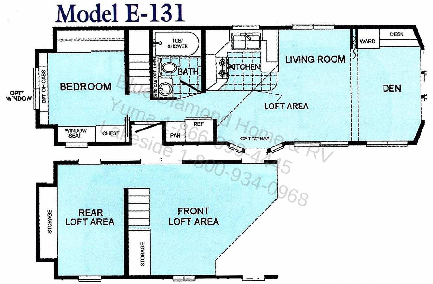 Park Models Chariot Eagle West E 131 Loft Floor Plans Park Model Homes Park Models