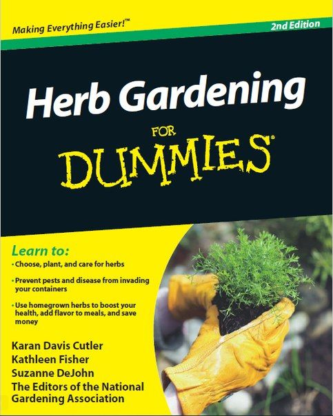 Herb Gardening for Dummies PDF download free | Herb Garden