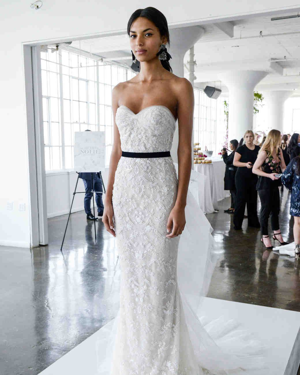 Marchesa lace dress spring 2018 collection