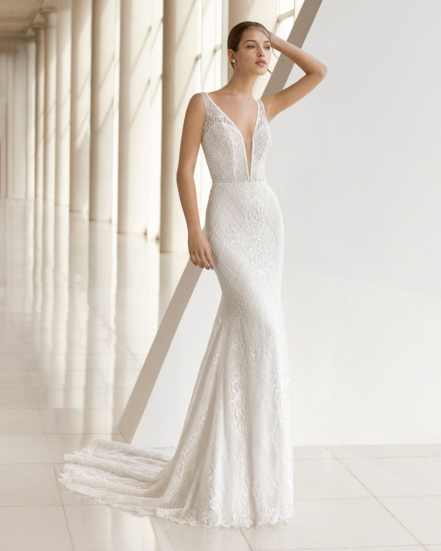 5bb5a3afaf Lace Mermaid Style Wedding Dresses