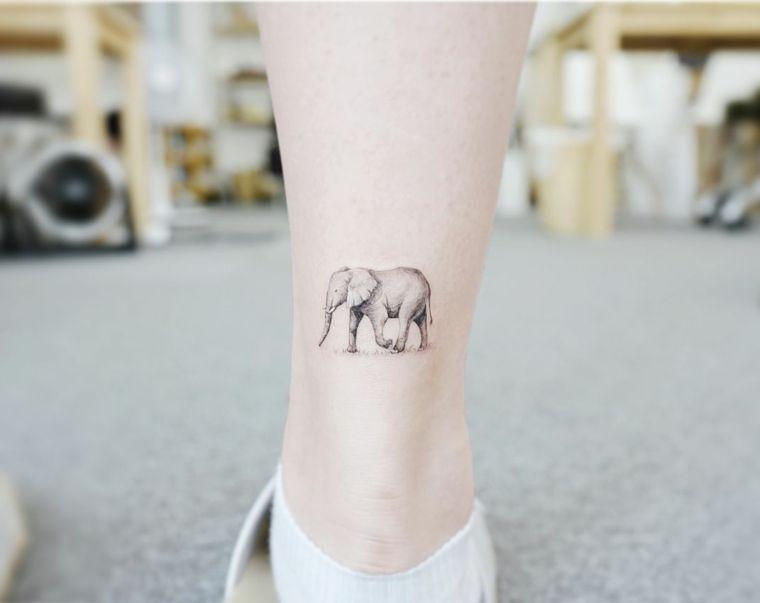 1001 + idee per Tatuaggi caviglia - disegni da copiare ...