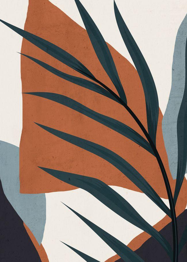 Abstract Art 35 Mini Art Print